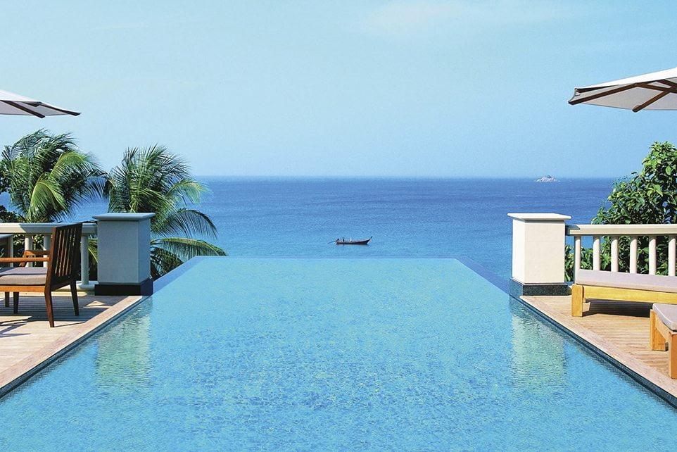 Ocean View Pool Villa Trisara Phuket Thailand